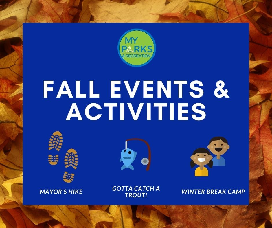 Fall events and activities for parks and recreation