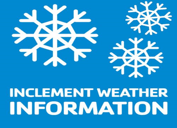 Inclement Weather Infographic