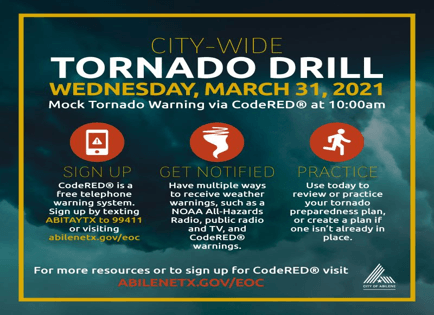 Tornado Drill News Infographic
