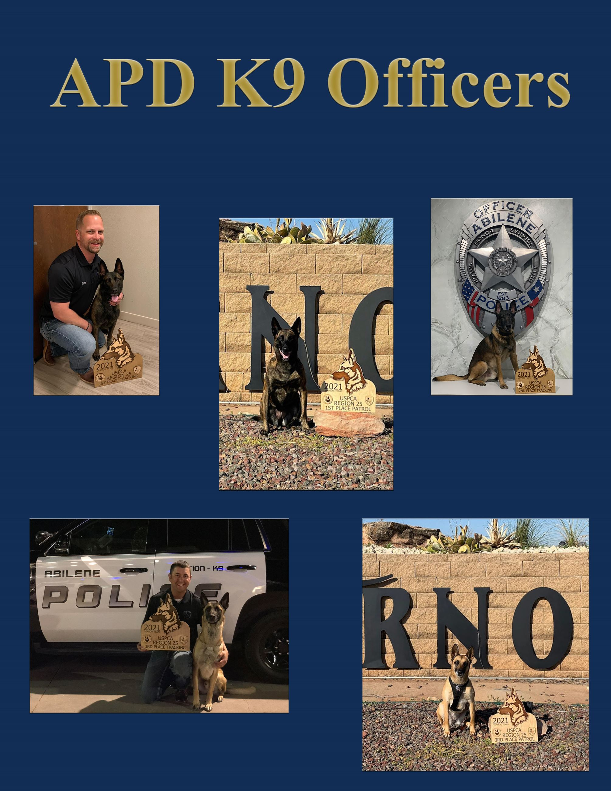 APD K9 Top Awards