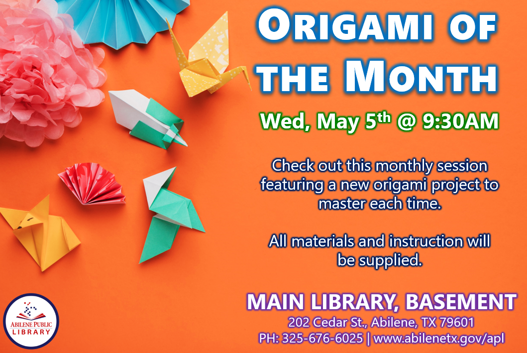 05-05 Origami of the Month