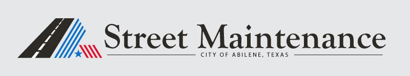Street Maintenance City of Abilene Texas