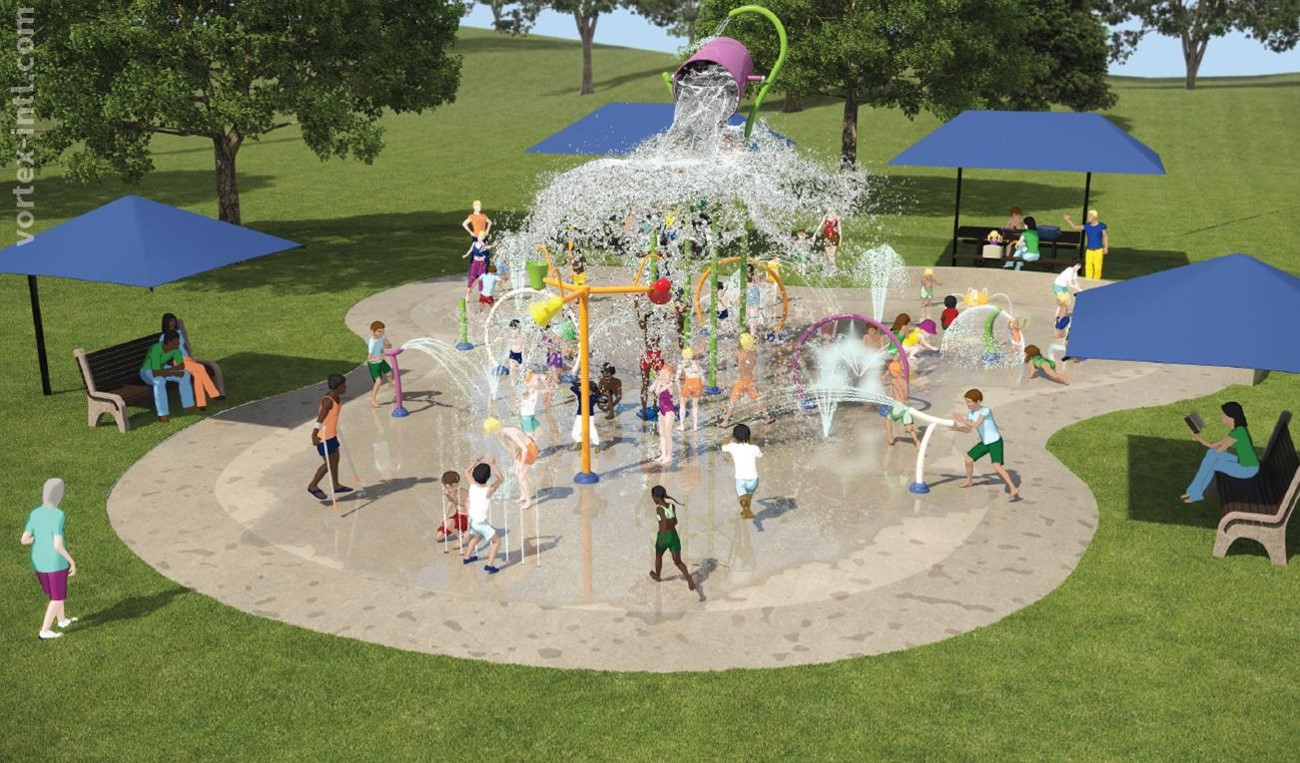 Scarborough Park Splash Pad Design Rendering 1
