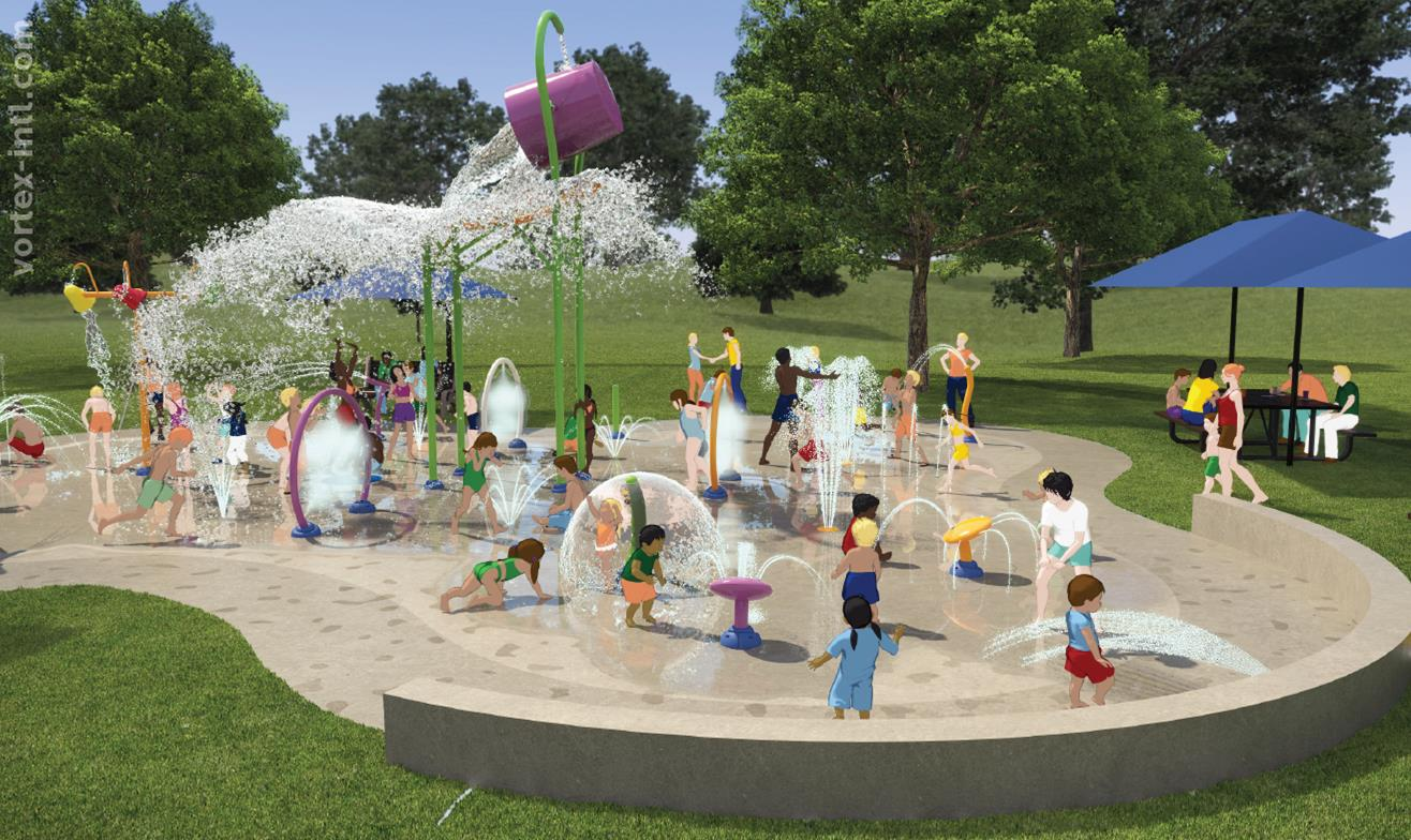 Scarborough Park Splash Pad Design Rendering 2