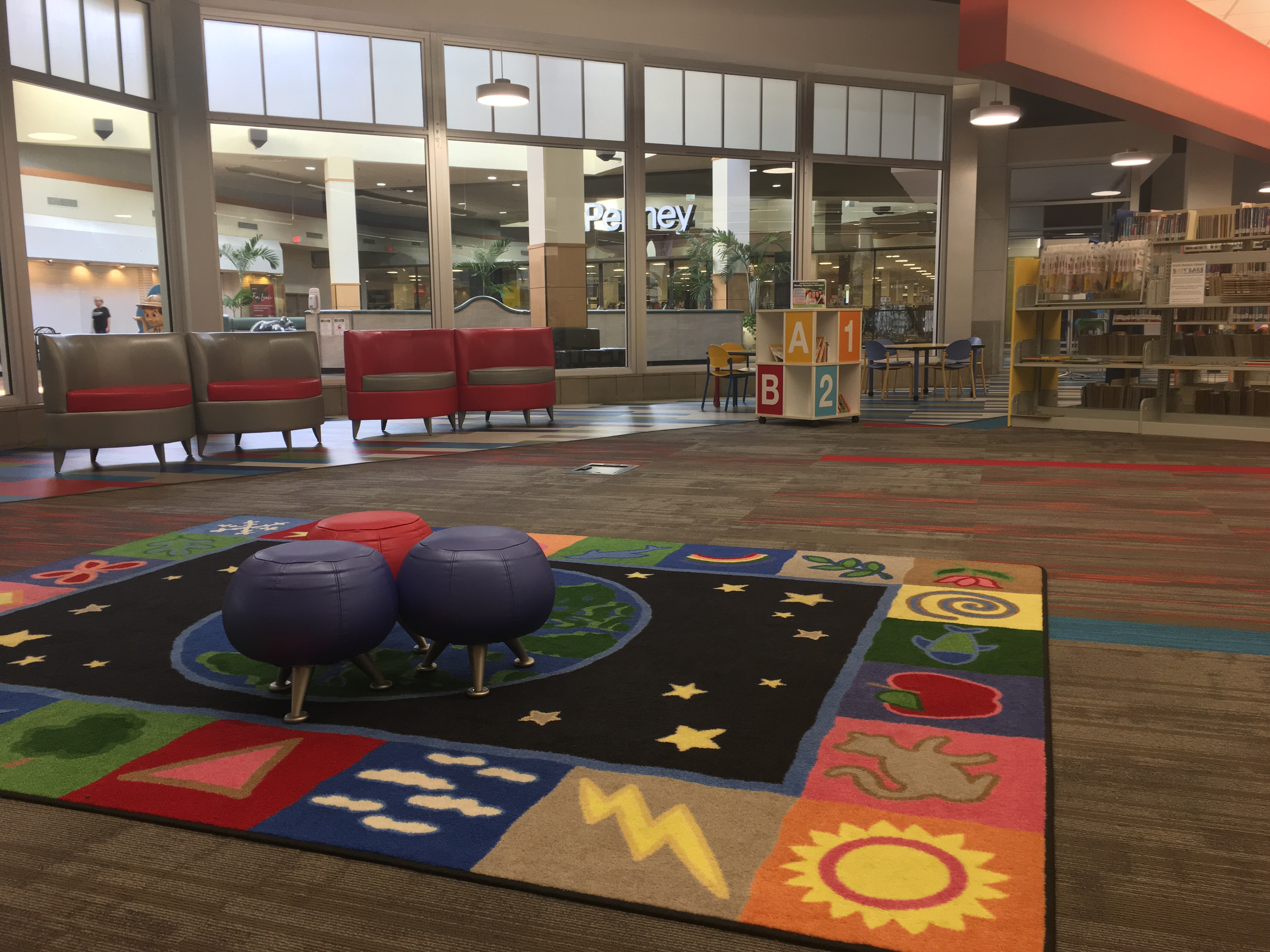 Childrens Storytime Area
