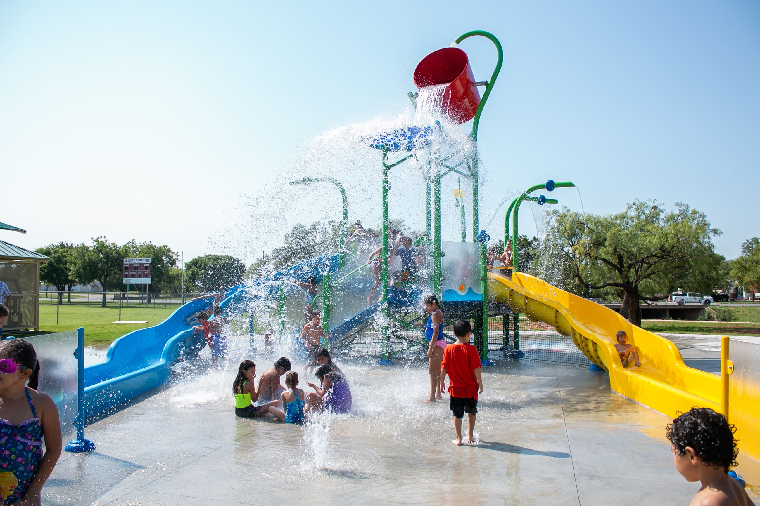 Sears Park Splash Pad Abilene Texas