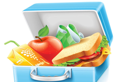 School Lunchbox Graphic