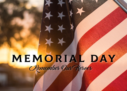 Memorial Day News Graphic