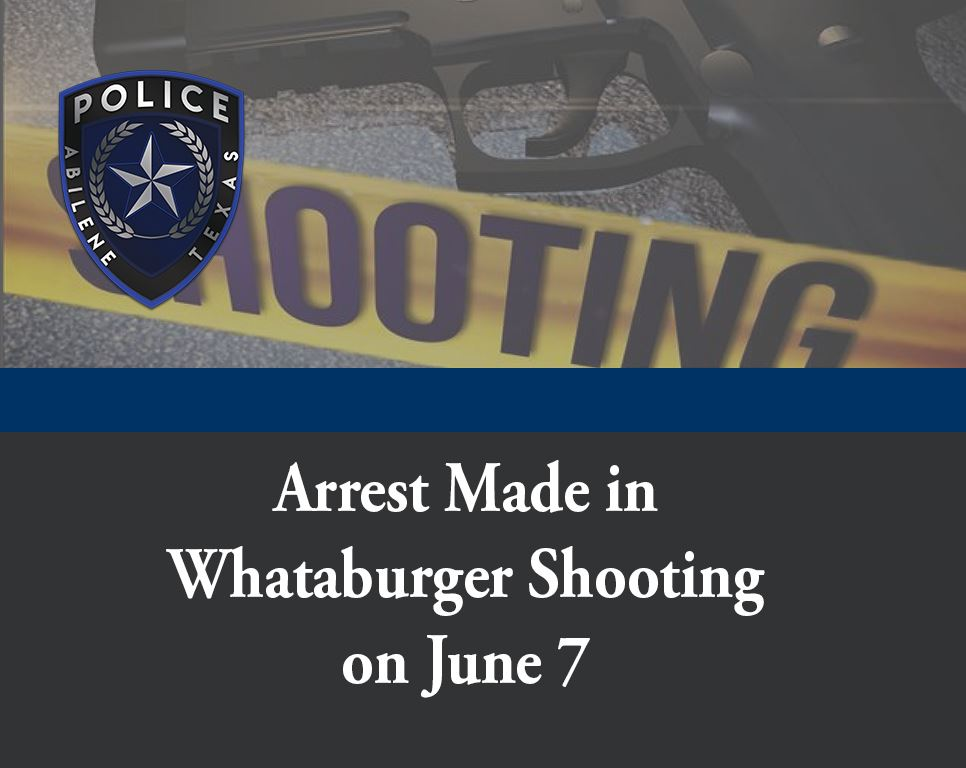 Whataburger Shooting Arrest