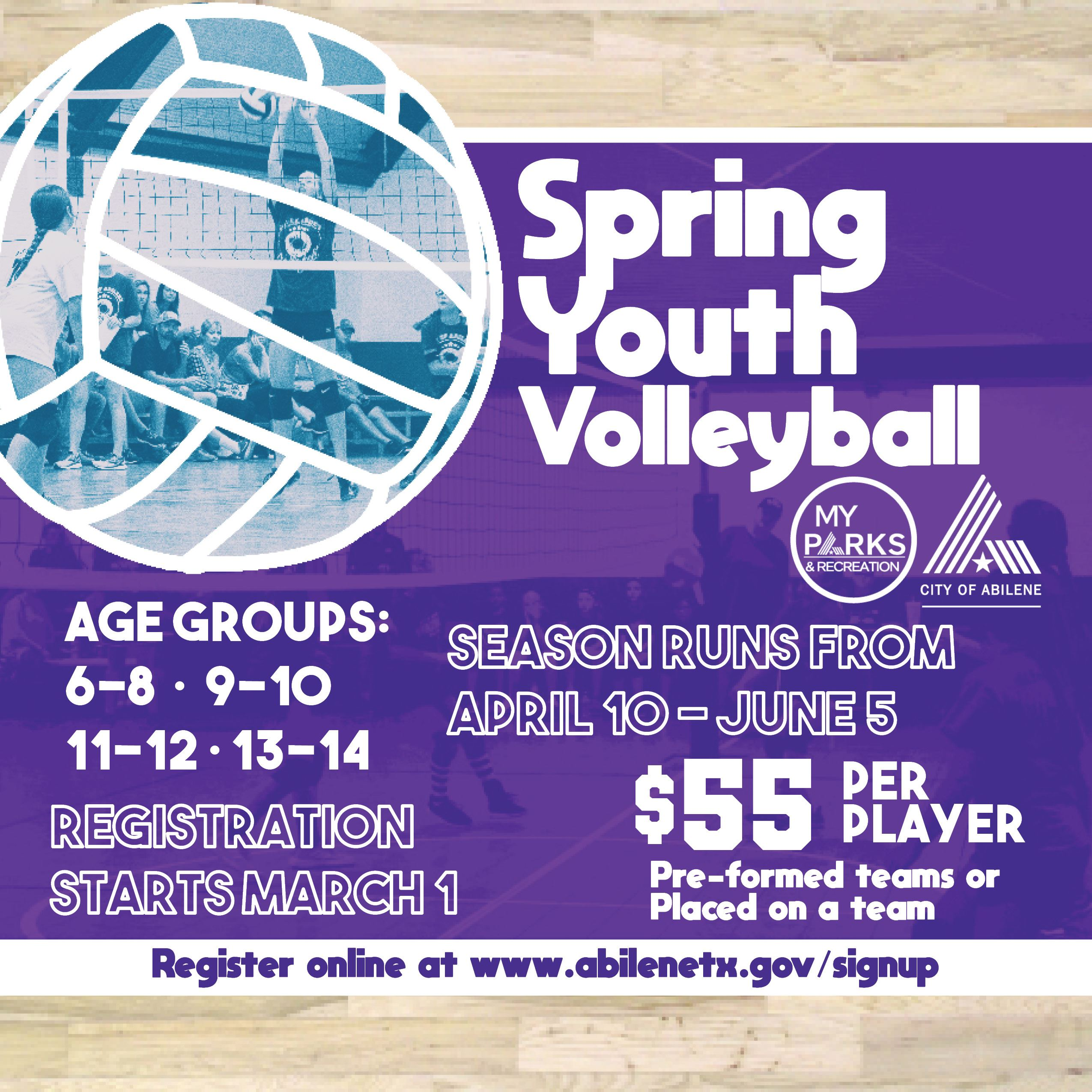 Spring Youth Volleyball 2021 SM