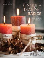 Book Cover - Candle Making Basics