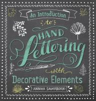 Book Cover - Hand Lettering with Decorative Elements