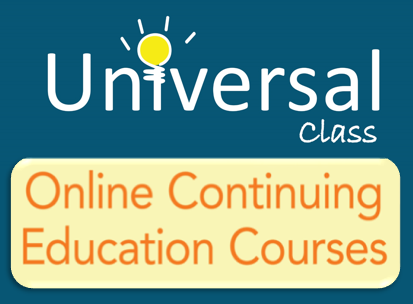 Universal Class Infographic Button