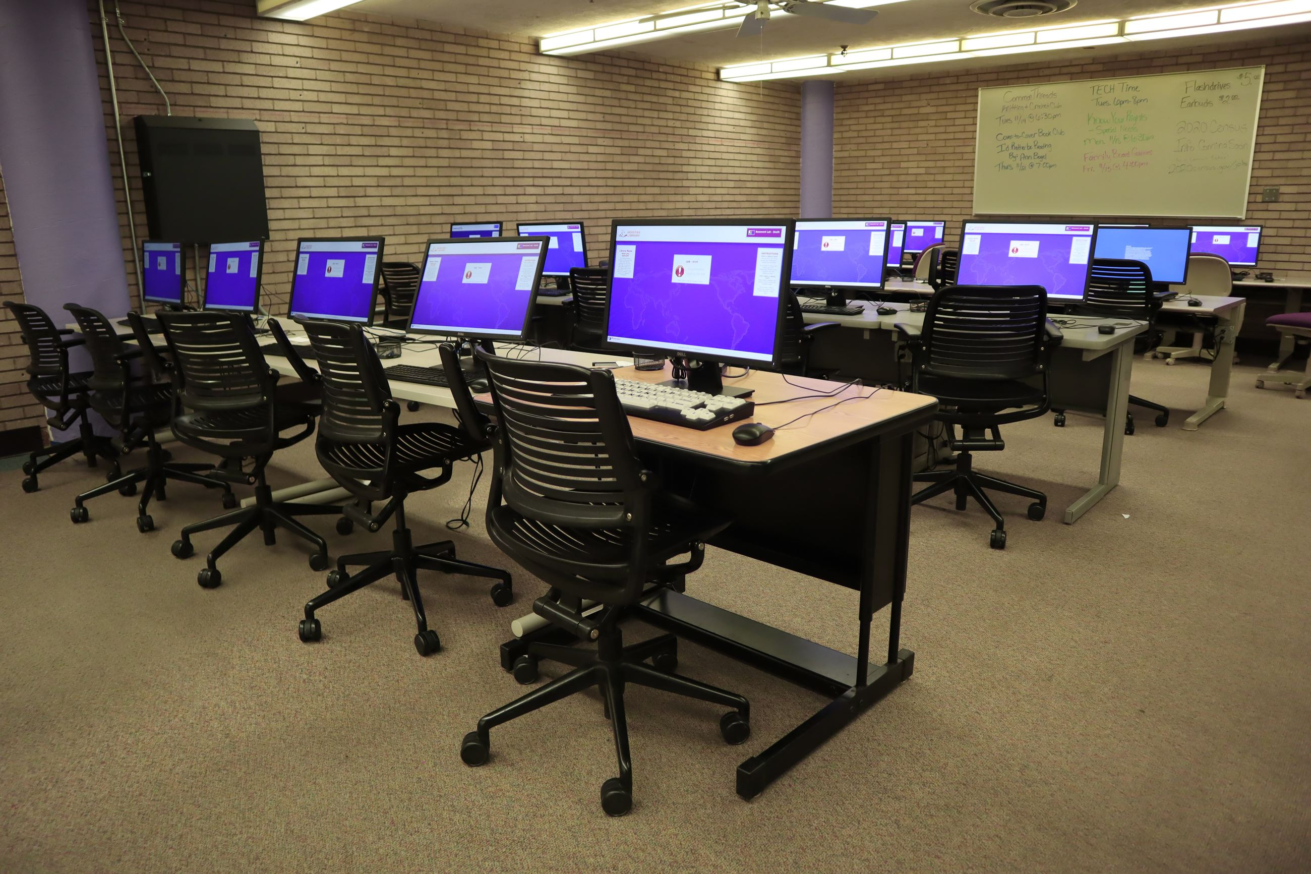 Reference Department - Public Computer Lab
