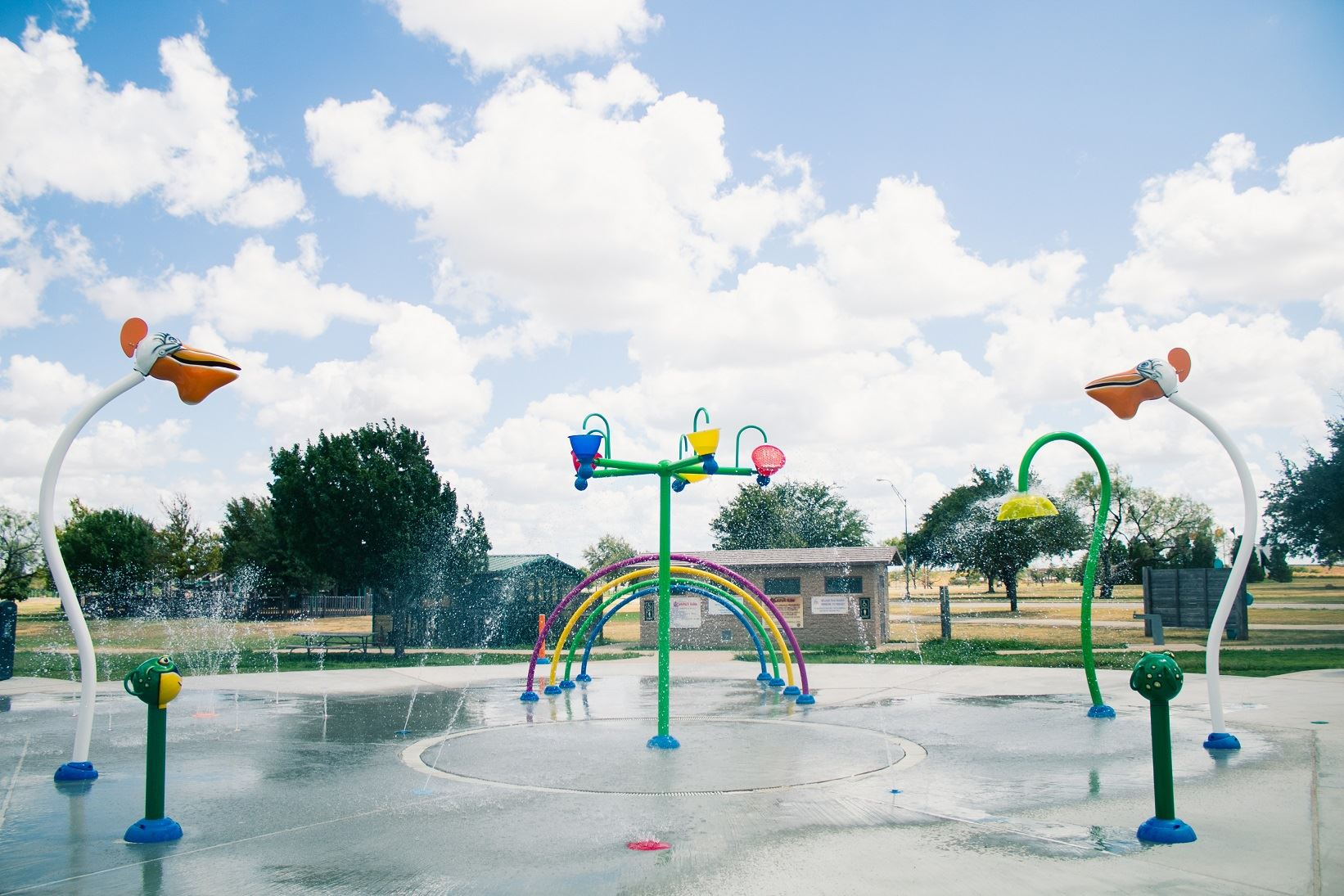 Nelson Splash Pad Water Features Abilene Texas