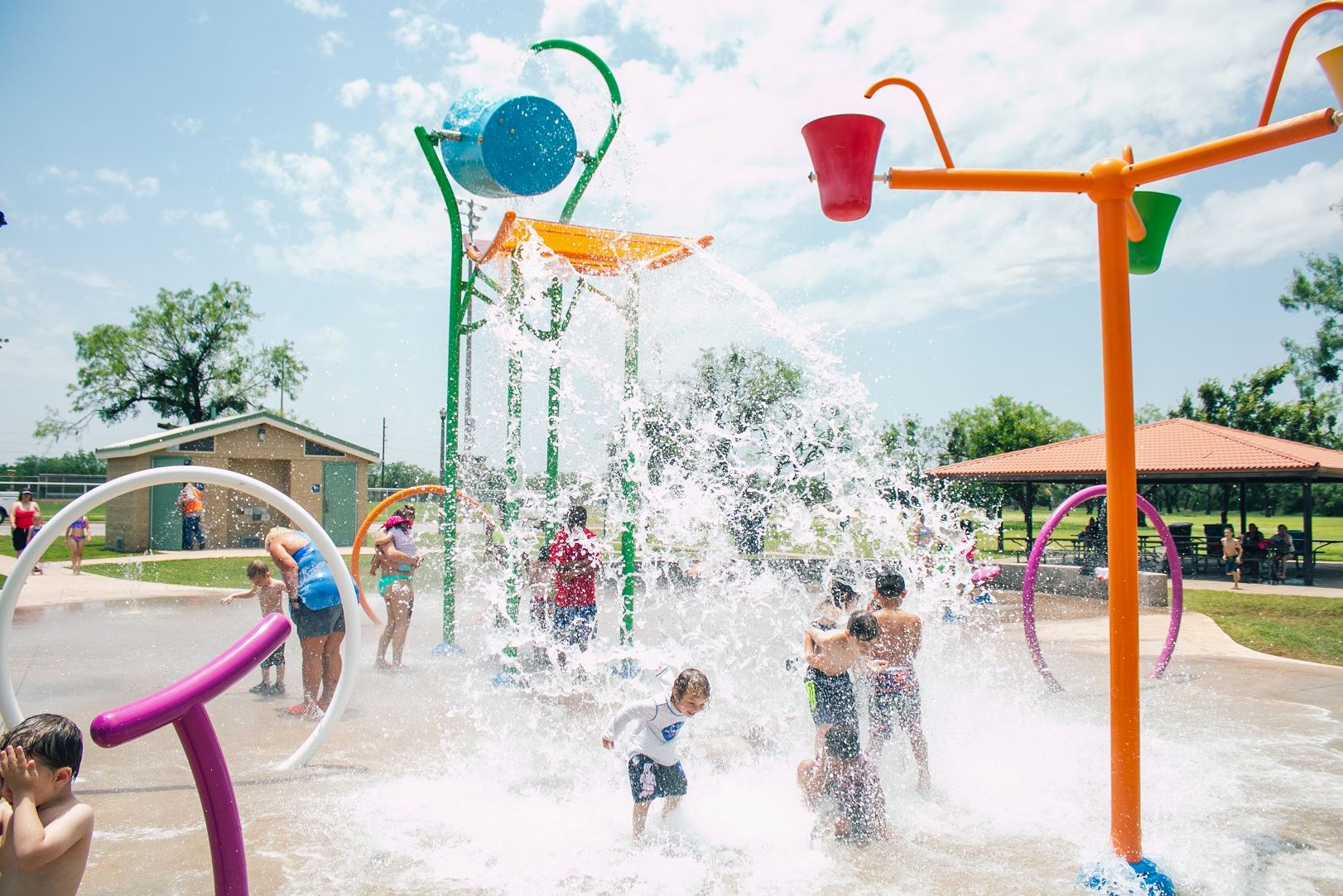 Scarborough Splash Pad Abilene Texas