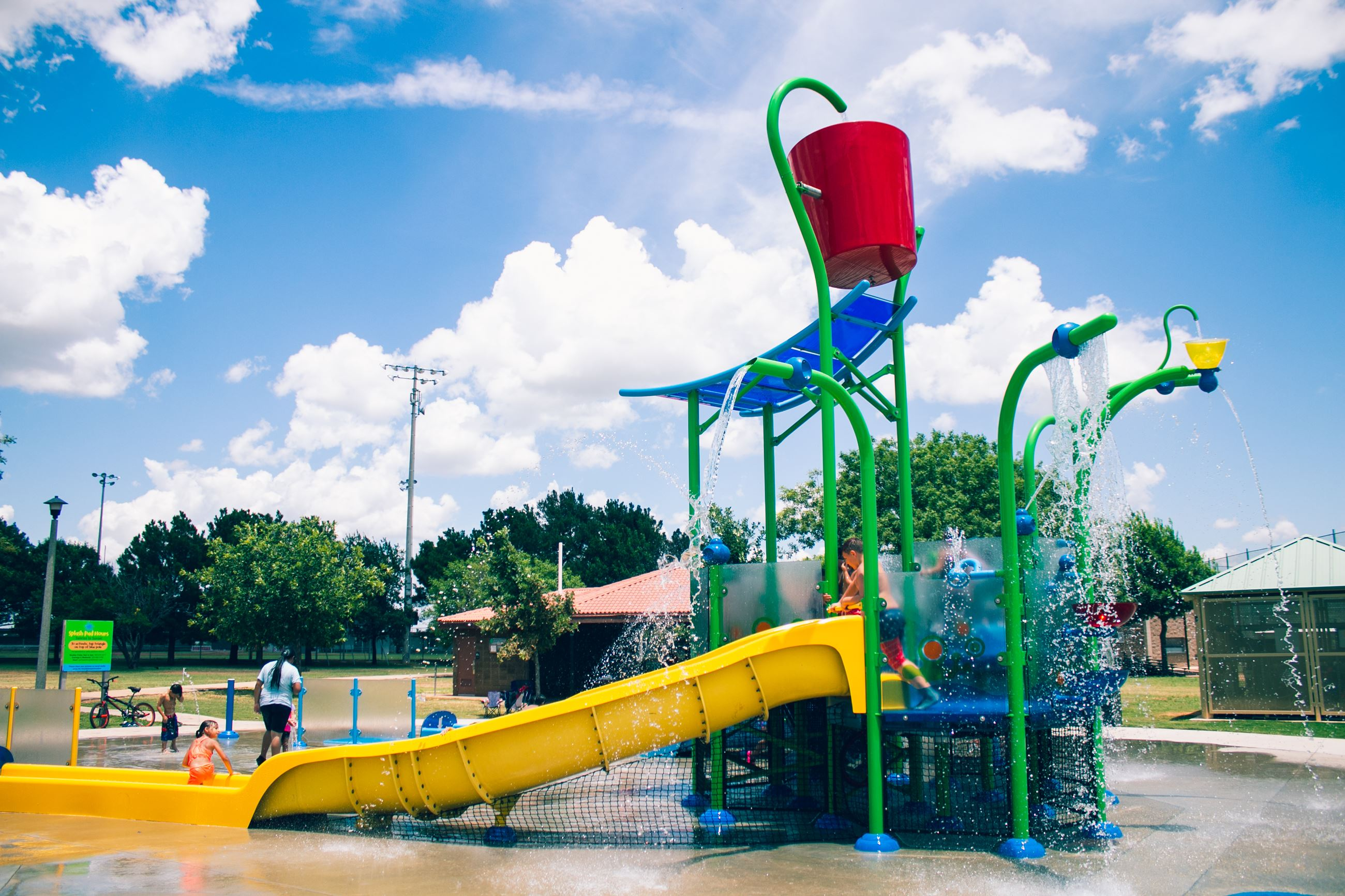 Arthur Sears Splash Pad in Abilene Texas