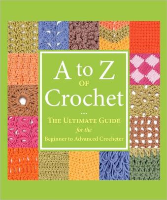 A to Z Crochet Book Cover