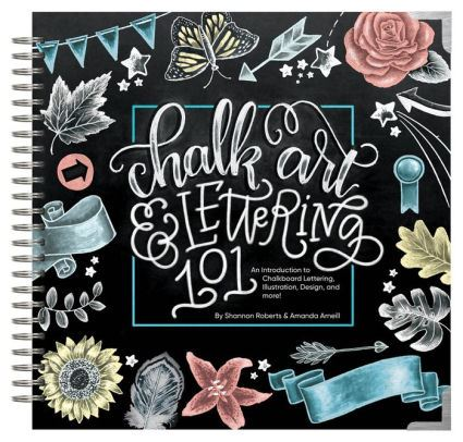 Chalk Art and Lettering 101 Book Cover